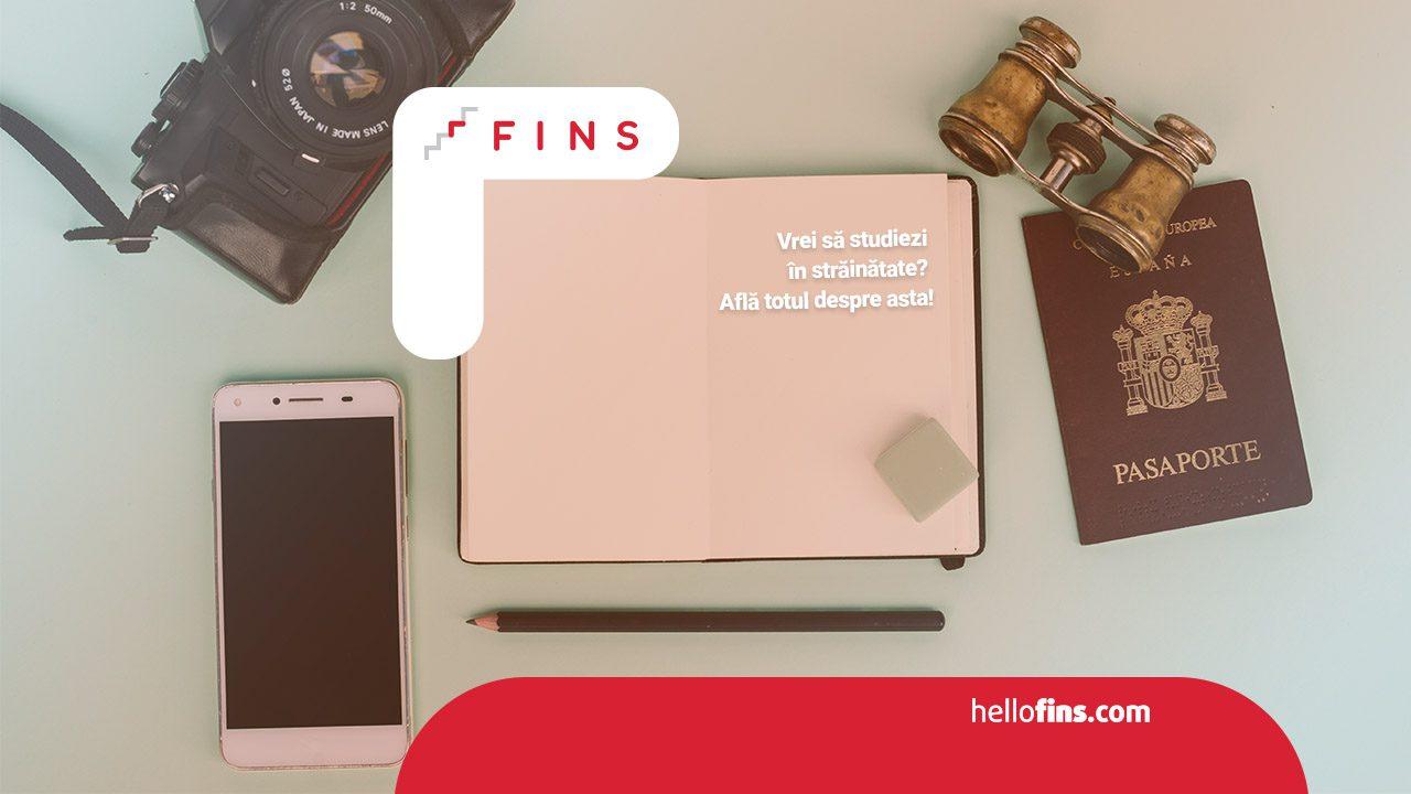 Vrei să studiezi în străinătate? FINS te susține cu toate resursele de care ai nevoie! Hai la evenimentele noastre online să descoperi toate oportunitățile pentru tine!